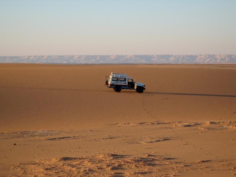 sahara driving